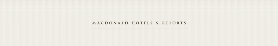 Logo for MACDONALD HOTELS