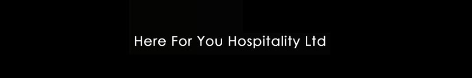 Logo for HERE FOR YOU HOSPITALITY