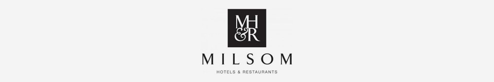 Logo for MILSOM HOTELS & RESTAURANTS