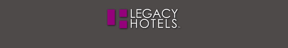 Logo for LEGACY HOTELS
