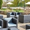 Ouside seating area at Riverside Hotel Burton upon Trent