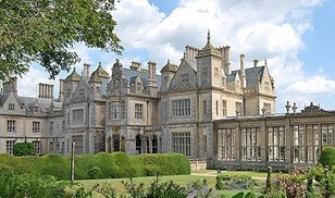 Picture of Stoke Rochford Hall, Bw Premier Collection